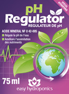 Etiquette Easy Hydroponics pH Regulator
